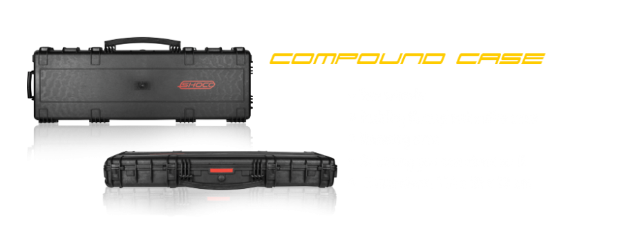 Bilde av Shocq Compound Case